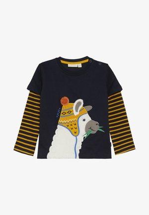 LLAMA TOP - T-shirt à manches longues - navy