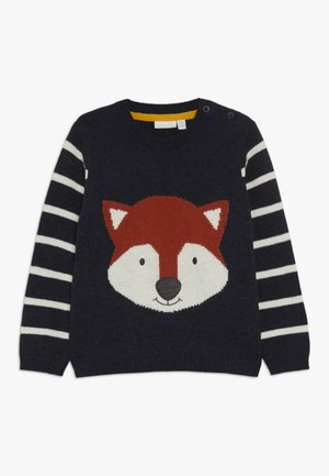 FOX FACE JUMPER - Pullover - navy