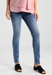 JoJo Maman Bébé - SUPER SKINNY - Jeans Skinny Fit - light denim - 0