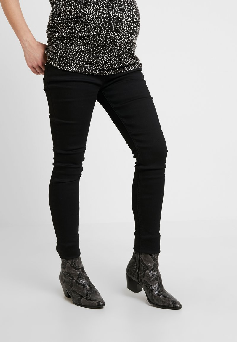 JoJo Maman Bébé - SUPERSTRETCH - Jeans Skinny Fit - black