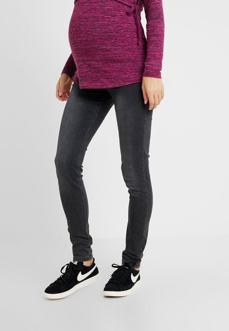 JoJo Maman Bébé - SUPER WITH WAISTBAND - Jeans Skinny Fit - grey