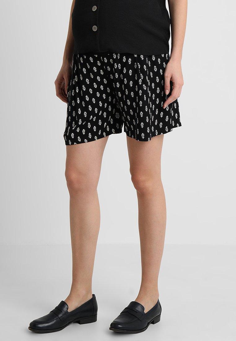 JoJo Maman Bébé - BLOCK PRINT - Shorts - black
