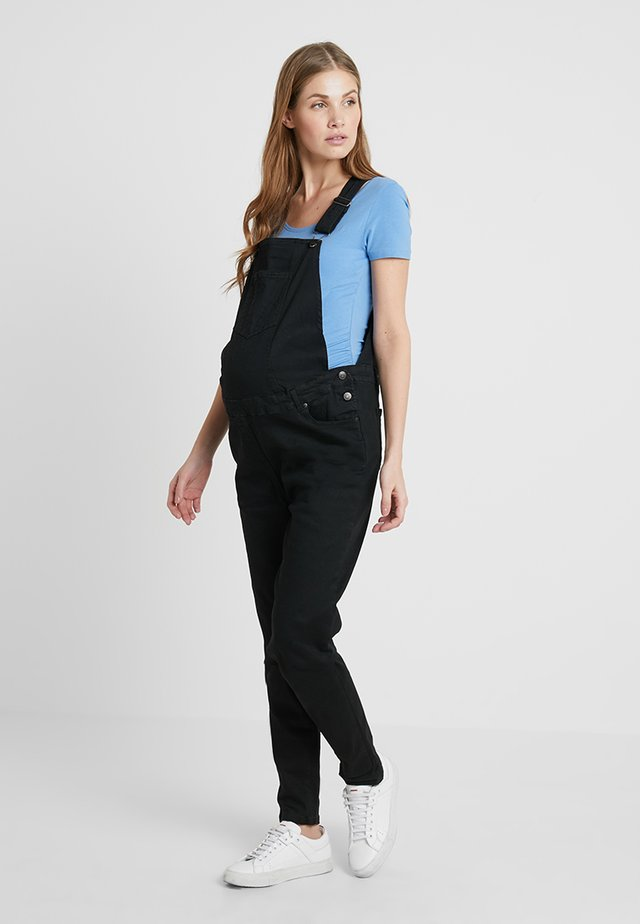 DUNGAREES - Overall /Buksedragter - black