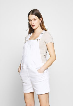 DUNGAREE - Peto - white