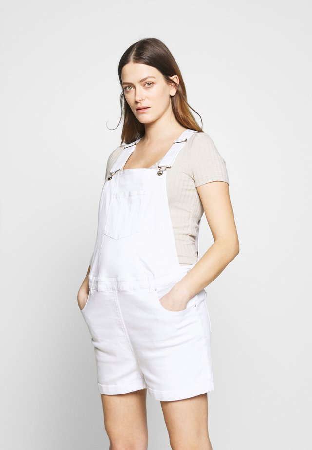 DUNGAREE - Overall /Buksedragter - white