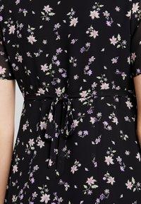 JoJo Maman Bébé - DITSY TEA DRESS - Sukienka letnia - black - 5
