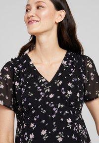 JoJo Maman Bébé - DITSY TEA DRESS - Sukienka letnia - black - 3