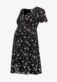 JoJo Maman Bébé - DITSY TEA DRESS - Sukienka letnia - black - 4