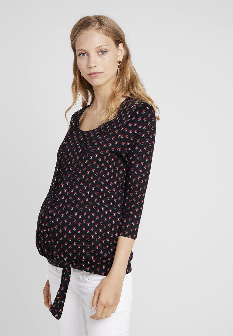 JoJo Maman Bébé - BUD WRAP - T-shirt à manches longues - black
