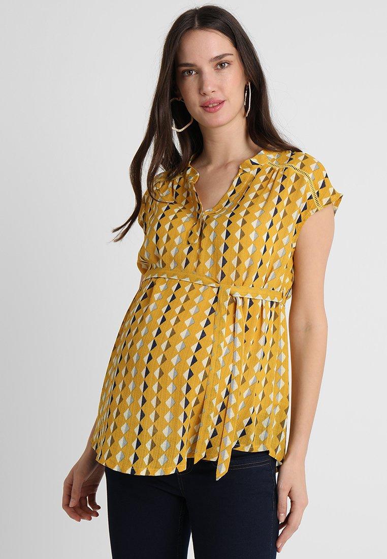 JoJo Maman Bébé - SUMMER BLOUSE - Blouse - yellow