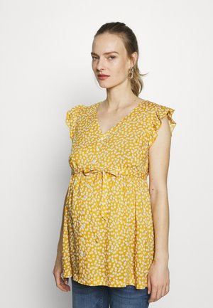 DITSY BLOUSE - Blouse - yellow