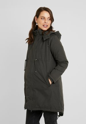 PADDED - Parka - charcoal