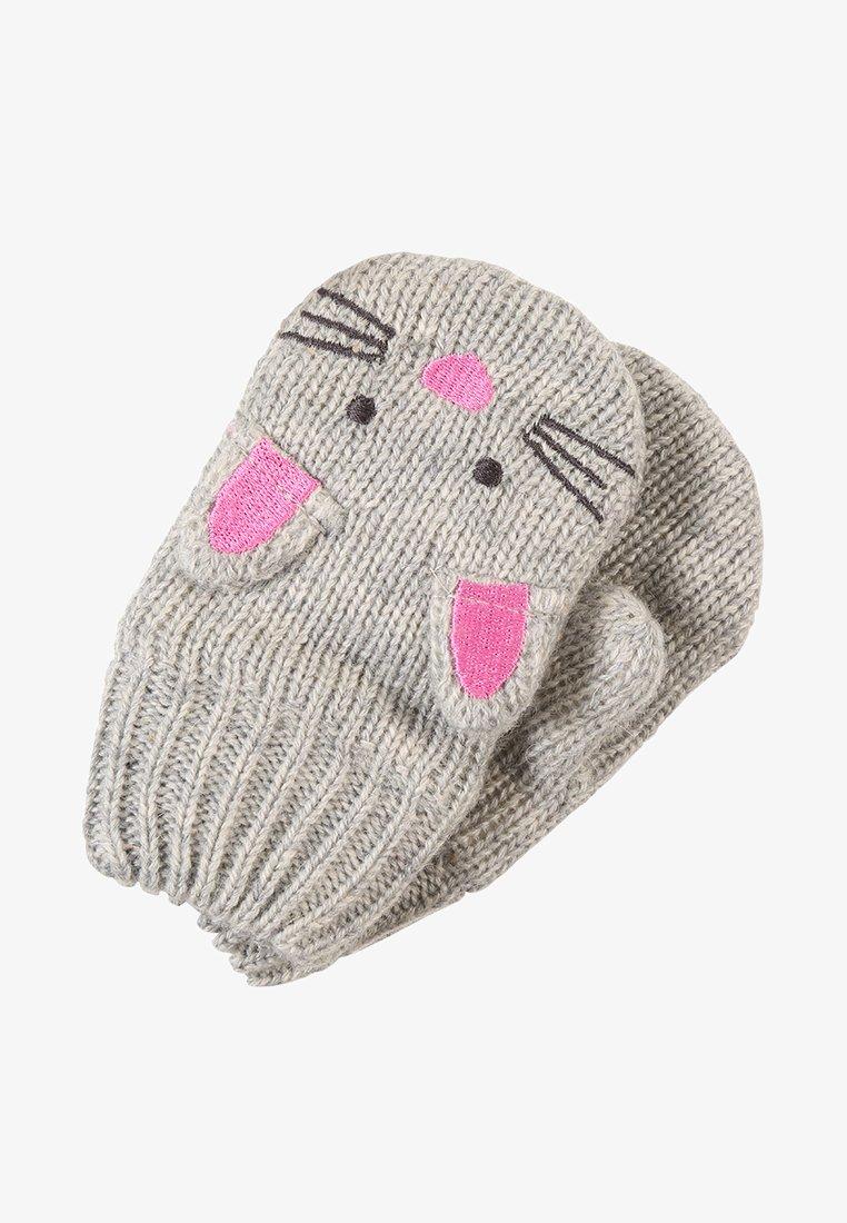 JoJo Maman Bébé - MOUSE - Rękawiczki z jednym palcem - grey marl