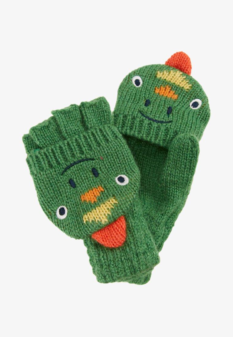 JoJo Maman Bébé - DINOSAUR GLOVES - Rękawiczki z jednym palcem - green