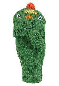 JoJo Maman Bébé - DINOSAUR GLOVES - Rękawiczki z jednym palcem - green - 4