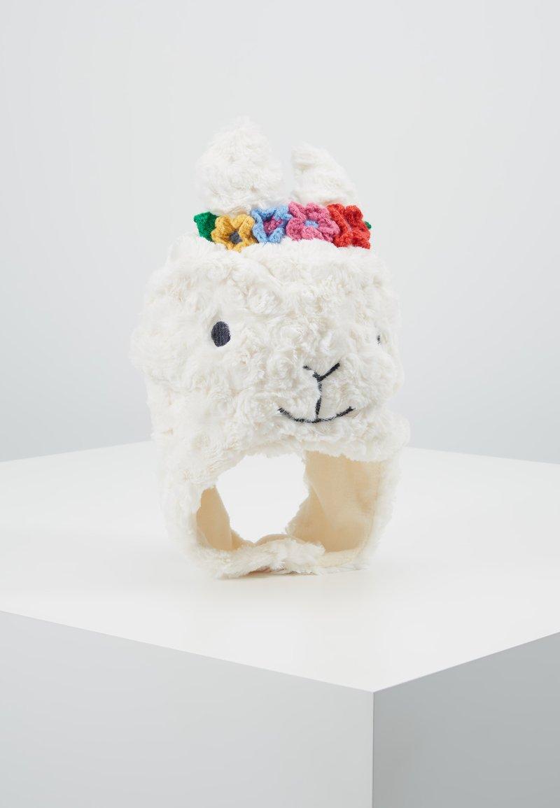 JoJo Maman Bébé - LLAMA HAT - Muts - off white