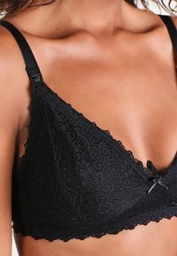 JoJo Maman Bébé - MATERNITY & NURSING BRA - Triangel BH - black - 4