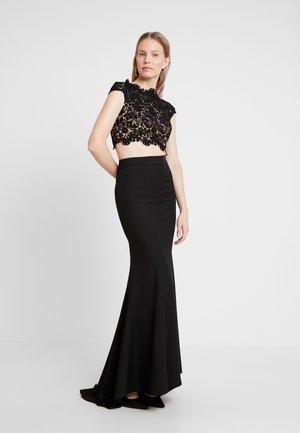 FARAH SET - Maxi skirt - black