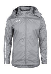 JAKO - STRIKER 2.0 ALLWETTERJACKE HERREN - Outdoor jacket - steingrau / weiss - 0