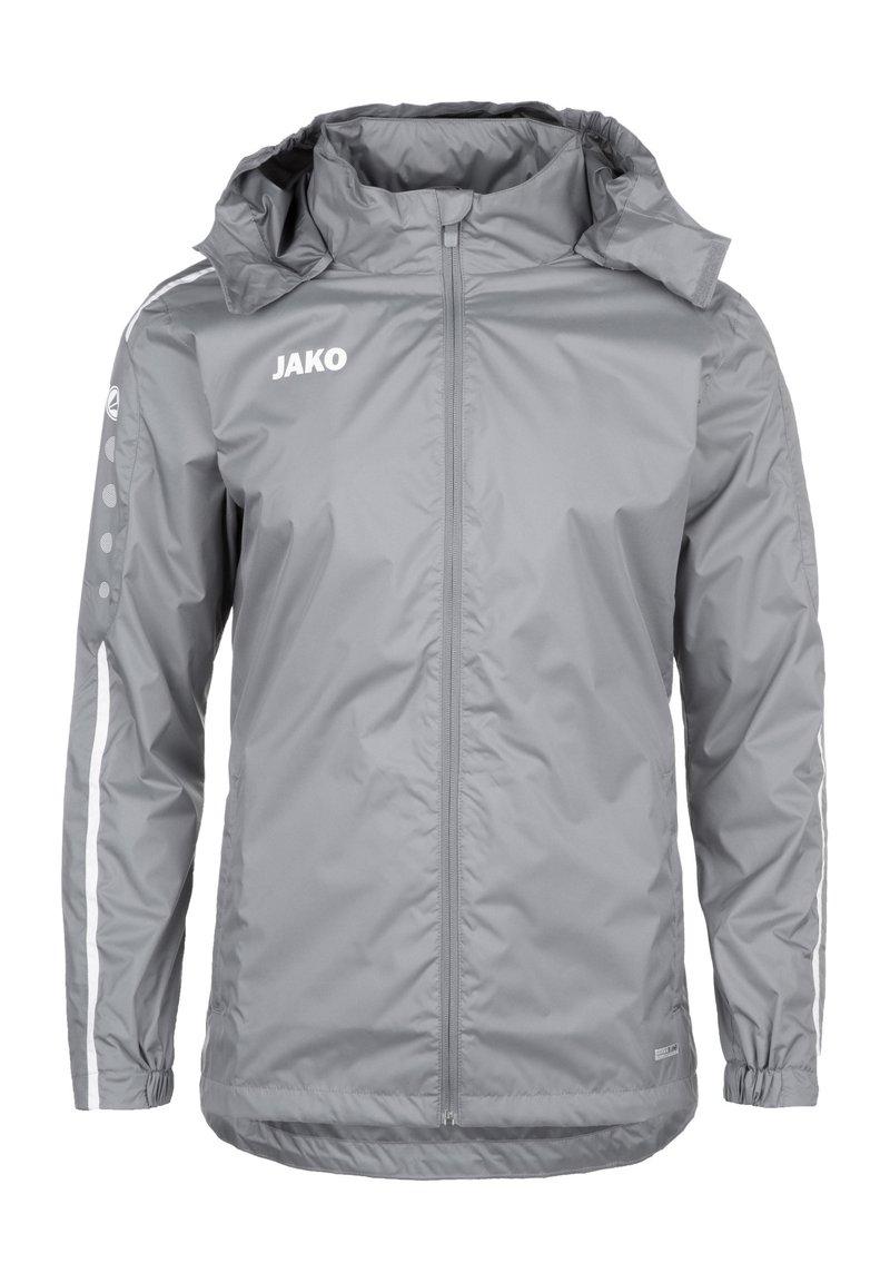 JAKO - STRIKER 2.0 ALLWETTERJACKE HERREN - Outdoor jacket - steingrau / weiss