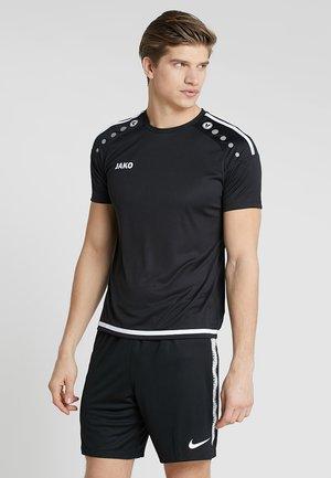 TRIKOT STRIKER 2.0 - Camiseta estampada - schwarz/weiß