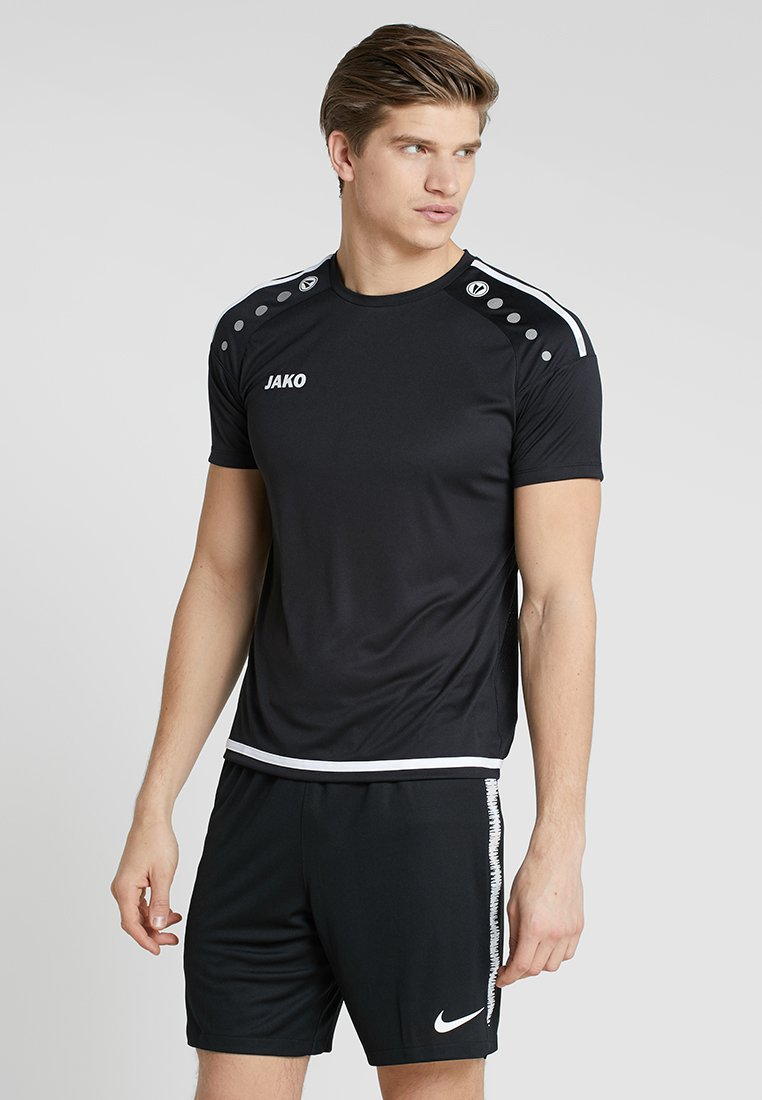 JAKO - TRIKOT STRIKER 2.0 - T-shirt imprimé - schwarz/weiß
