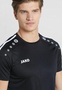 JAKO - TRIKOT STRIKER 2.0 - T-shirt imprimé - schwarz/weiß - 4