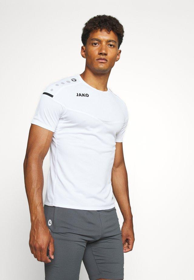 CHAMP 2.0 - T-shirt imprimé - weiß