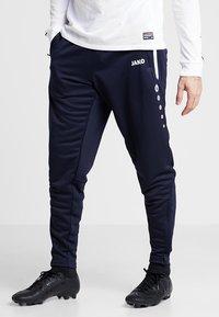 JAKO - ACTIVE - Pantalon de survêtement - navy/white - 0
