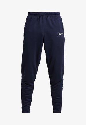 ACTIVE - Pantalones deportivos - navy/white