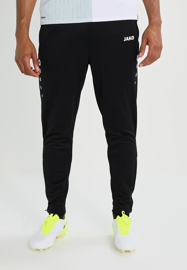 ACTIVE - Tracksuit bottoms - schwarz