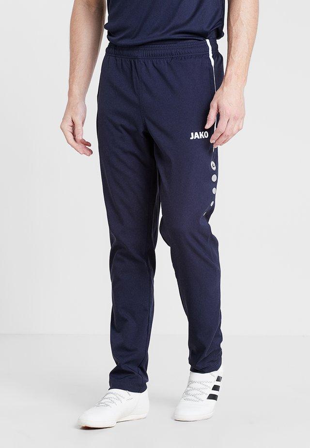 STRIKER - Pantalon de survêtement - marine/weiß