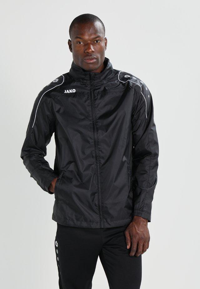 TEAM - Waterproof jacket - schwarz