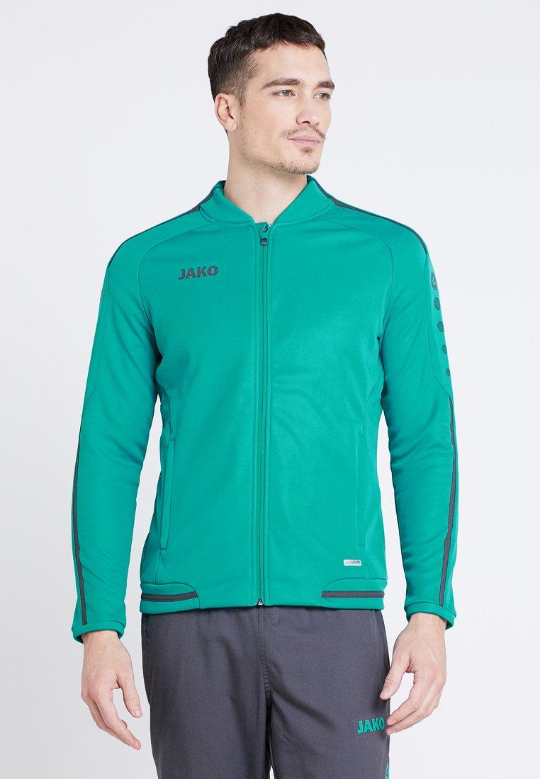 JAKO - STRIKER - Fleece jacket - türkis/anthrazit