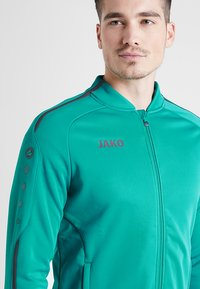 JAKO - STRIKER - Fleece jacket - türkis/anthrazit - 3