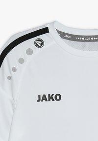 JAKO - TRIKOT STRIKER - Triko spotiskem - weiß/schwarz - 3