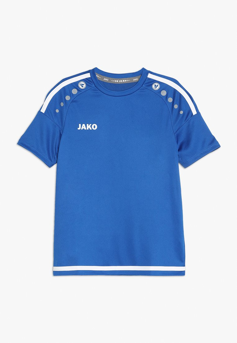 JAKO - TRIKOT STRIKER - T-shirt imprimé - royal/weiß