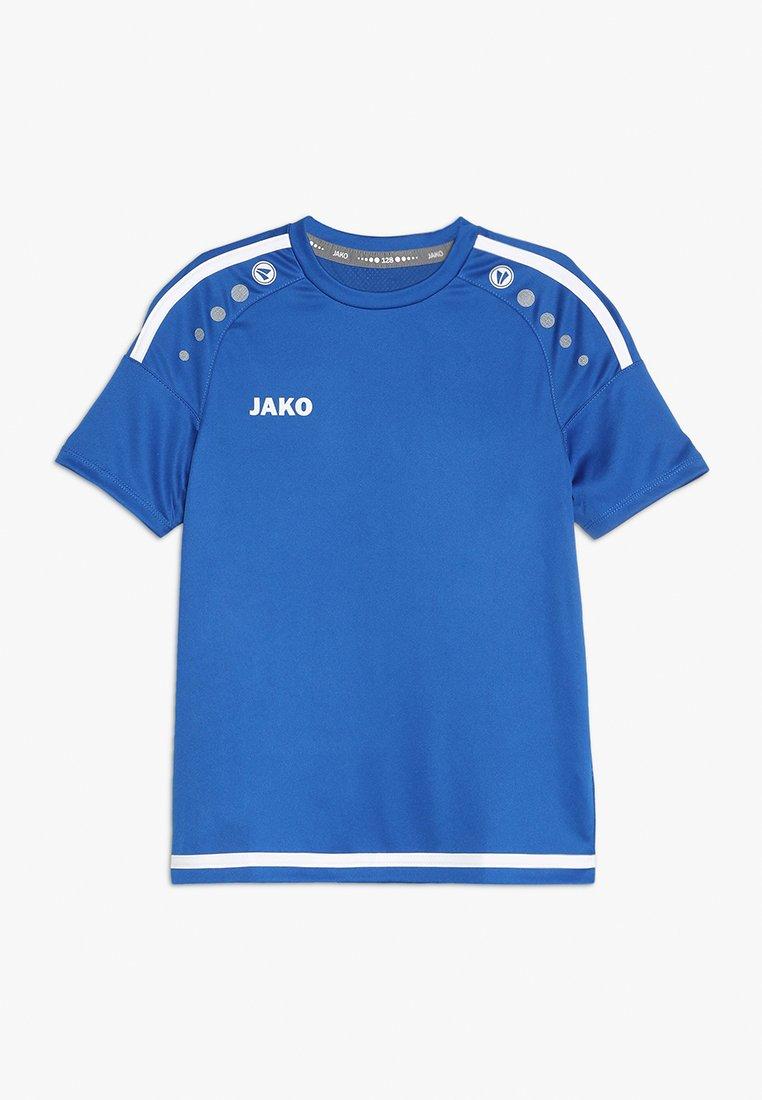 JAKO - TRIKOT STRIKER - T-Shirt print - royal/weiß