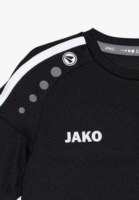 JAKO - TRIKOT STRIKER - T-shirt imprimé - schwarz/weiß - 3