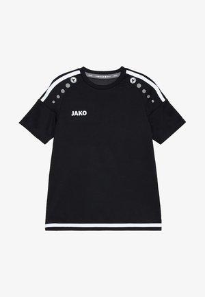 TRIKOT STRIKER - Print T-shirt - schwarz/weiß