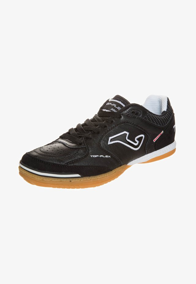 TOP FLEX SALA 5 - Zaalvoetbalschoenen - black/white