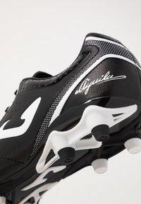 Joma - AGUILA GOL - Chaussures de foot à crampons - black - 5