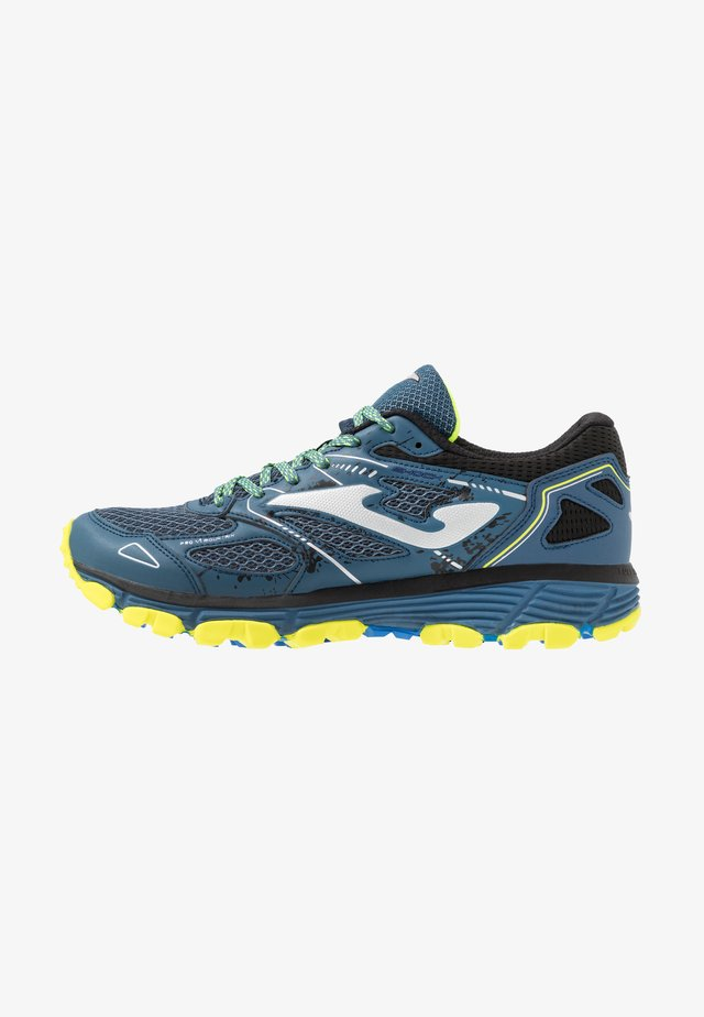 SHOCK - Trail running shoes - blue