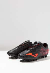 Joma - PROPULSION - Chaussures de foot à crampons - black/red - 2