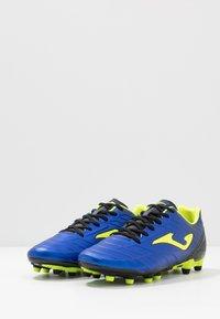Joma - SPANDER - Voetbalschoenen met kunststof noppen - blau - 2