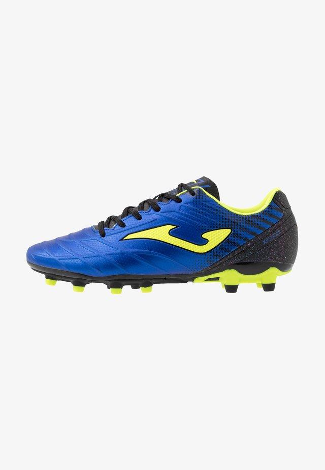 SPANDER - Voetbalschoenen met kunststof noppen - blau