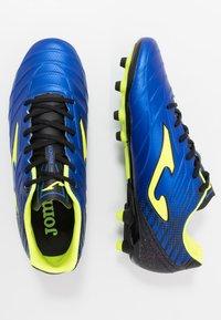 Joma - SPANDER - Voetbalschoenen met kunststof noppen - blau - 1