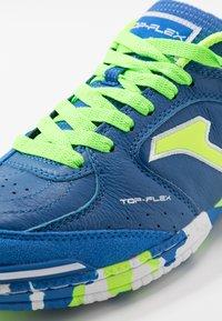 Joma - TOP FLEX - Halówki - blue/green - 6