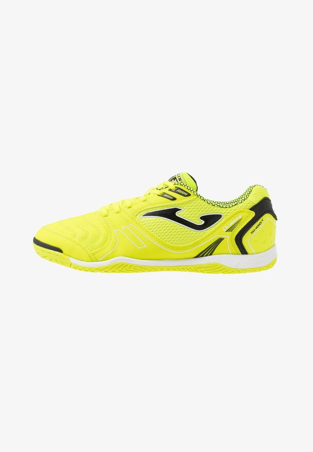 DRIBLING - Indoor football boots - yellow