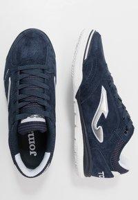 Joma - TOP FLEX REBOUND - Indendørs fodboldstøvler - blue - 1